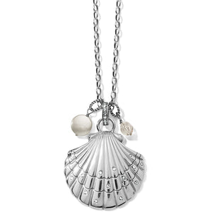 Sea Shore Scallop Shell Convertible Necklace