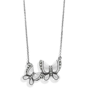 Trust Your Journey Love Butterfly Necklace