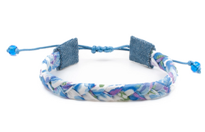Bandana Love Braided Bracelet - Bluebells Skinny