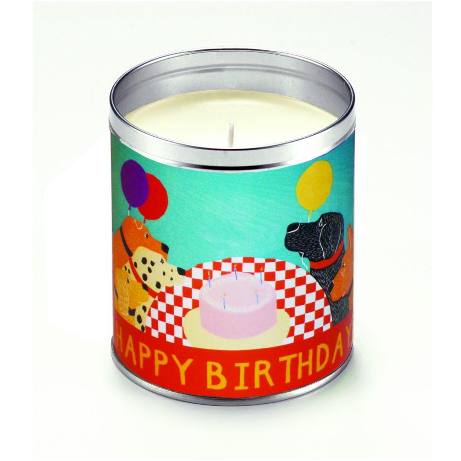 Candle - Happy Birthday -  Stephen Huneck