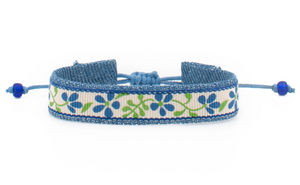 Bandana Love Band - Blue Vinca