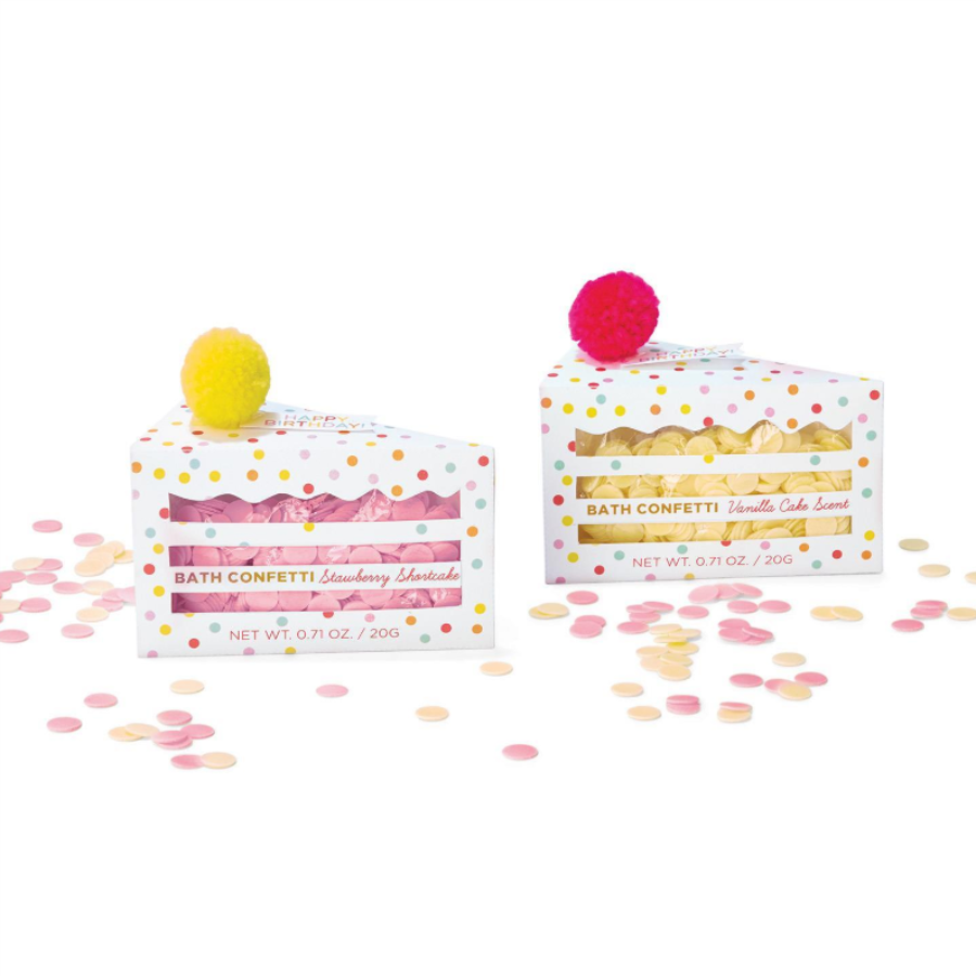 Happy Birthday to You Bath Confetti in Gift Box