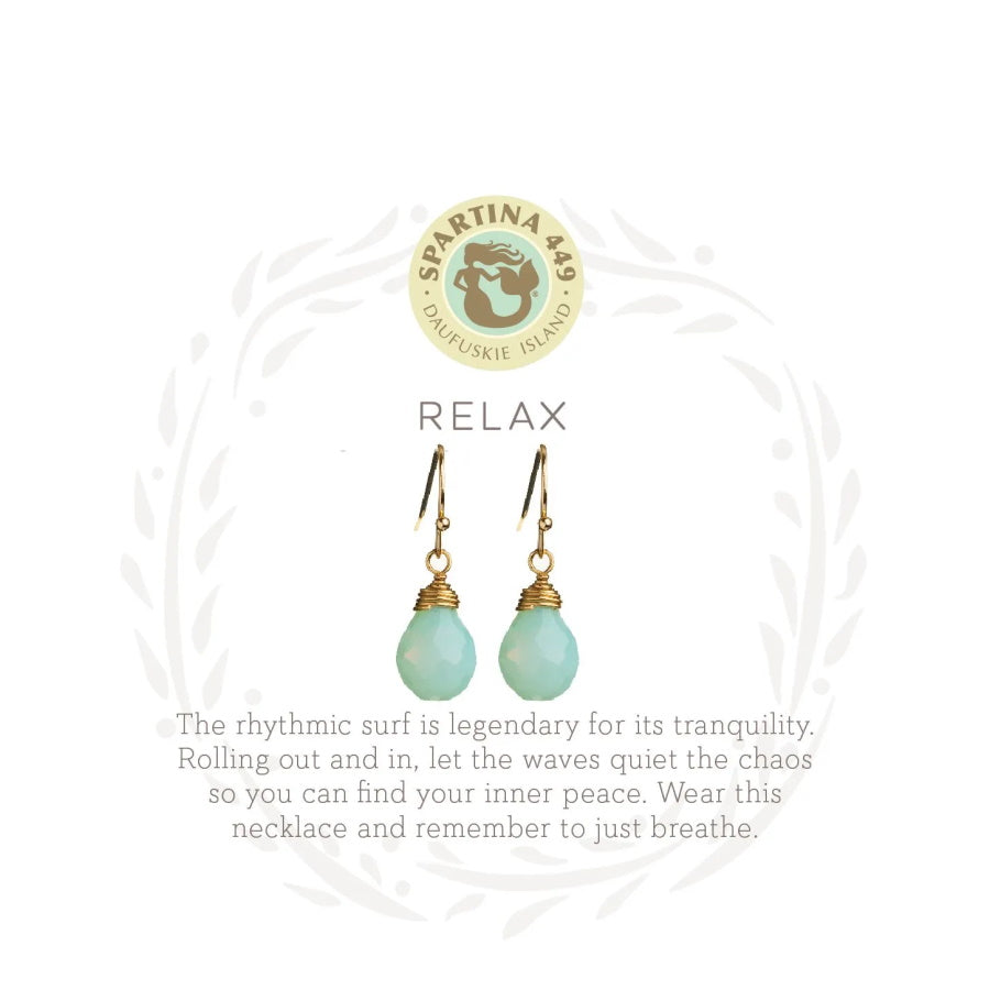 "Sea La Vie ""Relax"" Earrings"