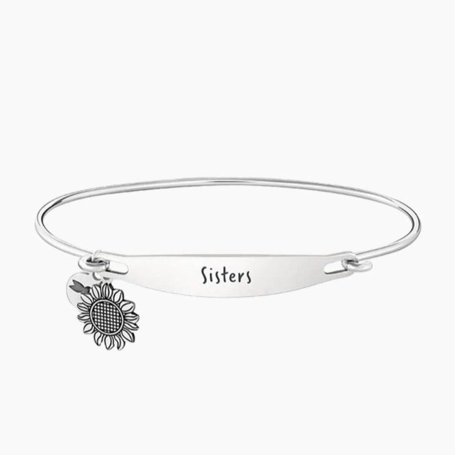 Chamilia-Sisters Spoken ID Bangle in Silver