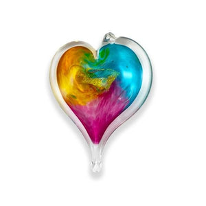 Handcrafted Glass Heart - Small