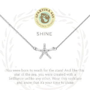 "Sea La Vie ""Shine"" Necklace(Starfish)"