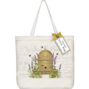 "Canvas Tote Bag  - ""Bee"""