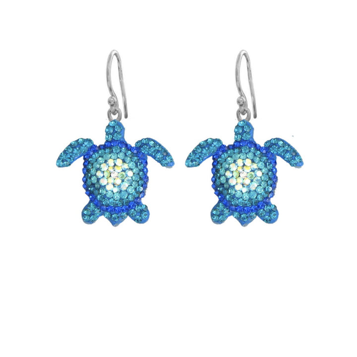 Mosaico Turtle Earrings