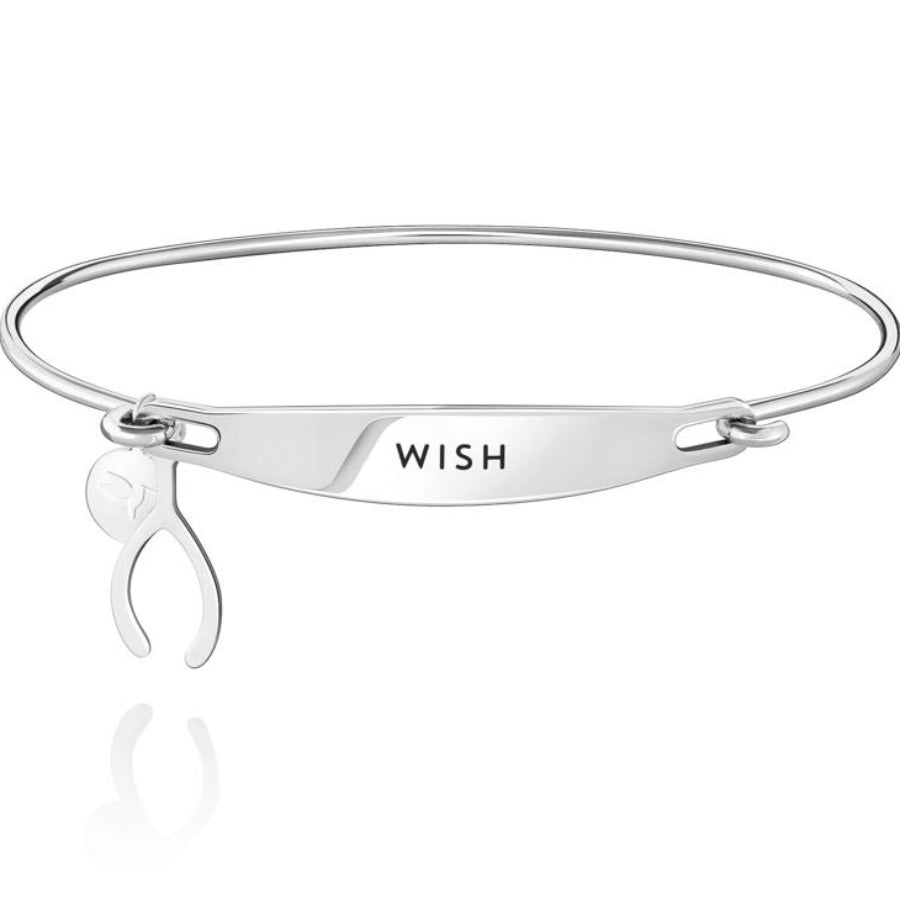 Chamilia-Wish Spoken ID Bangle in Silver