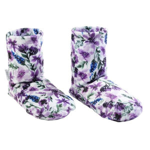 Lavender Spa Booties-Wisteria