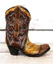 Load image into Gallery viewer, Brown Cowboy Boot Home Decor