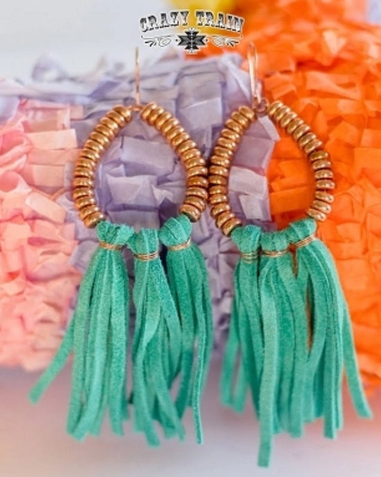 Turquoise Copperas Cove Earrings