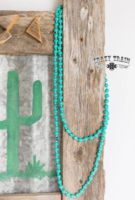 Marbelous Turquoise Necklace