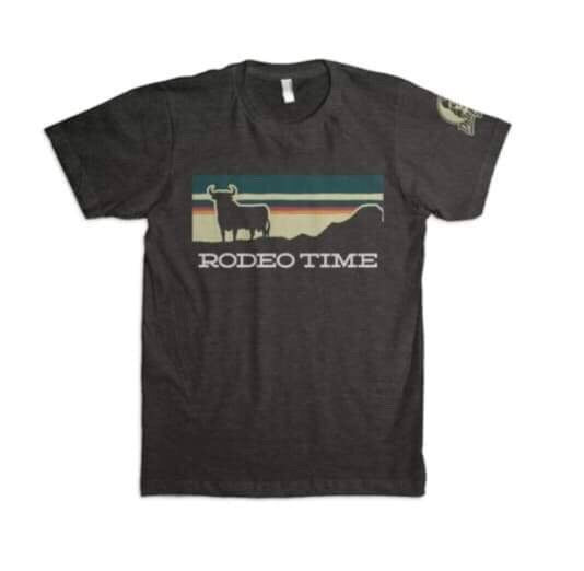 Sunset Rodeo Time Tee
