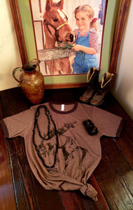 cowgirl t-shirt, women's t-shirt, soft t-shirt