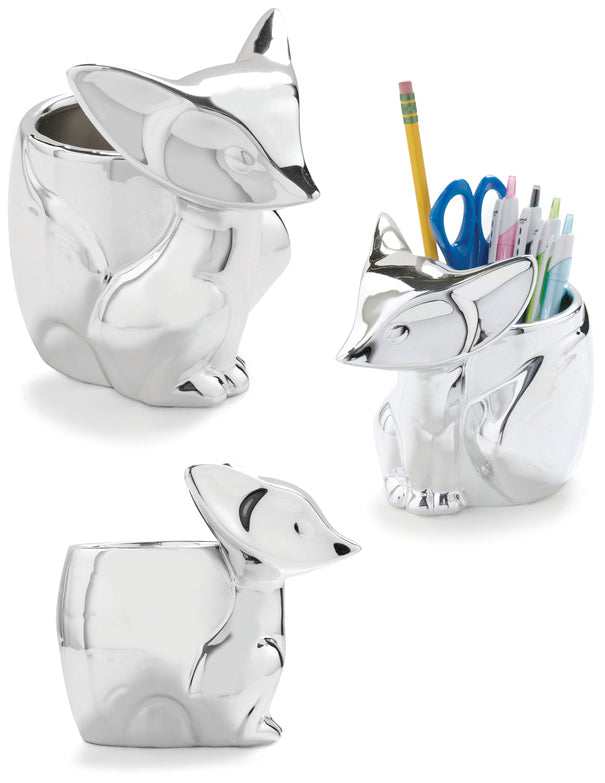 Silver Fox Desk Organizer from RIO
