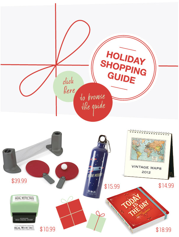 Room in Order Holiday Shopping Guide