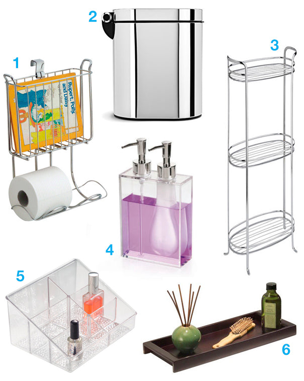 Organize your Bathroom, simplehuman, Umbra, InterDesign