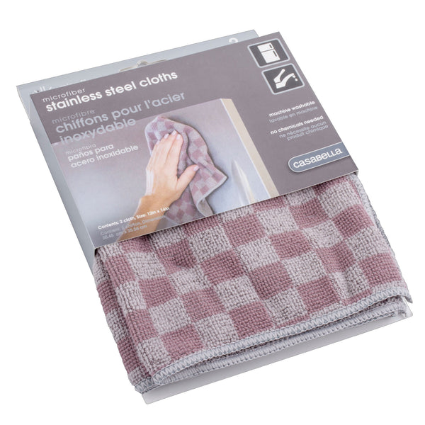 Microfiber Stainless Steel Cloth | 12