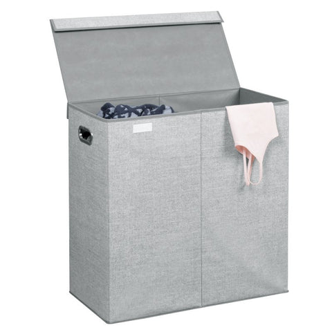 Aldo Folding Double Laundry Hamper