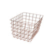 Copper Rectangular Wire Basket