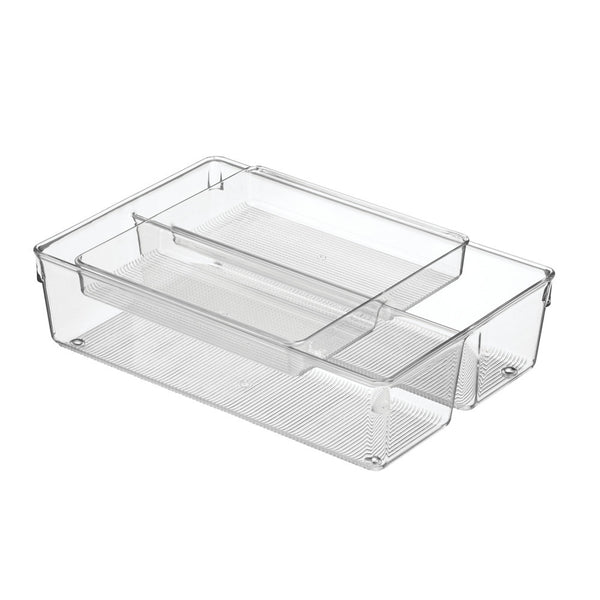 Linus 2 Piece Drawer Organizer 8 x 12 x 3