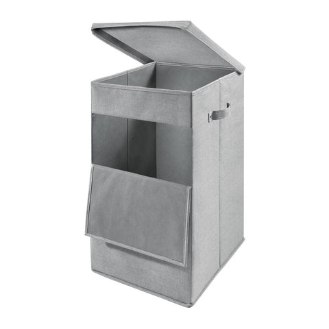 Codi Stackable Laundry Bin Grey