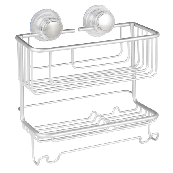 Metro Aluminum Turn-N-Lock 2 Tier Combo Basket