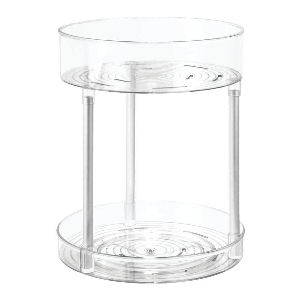 Metro Ultra 2-Tier Bath Spinner Clear/Silver