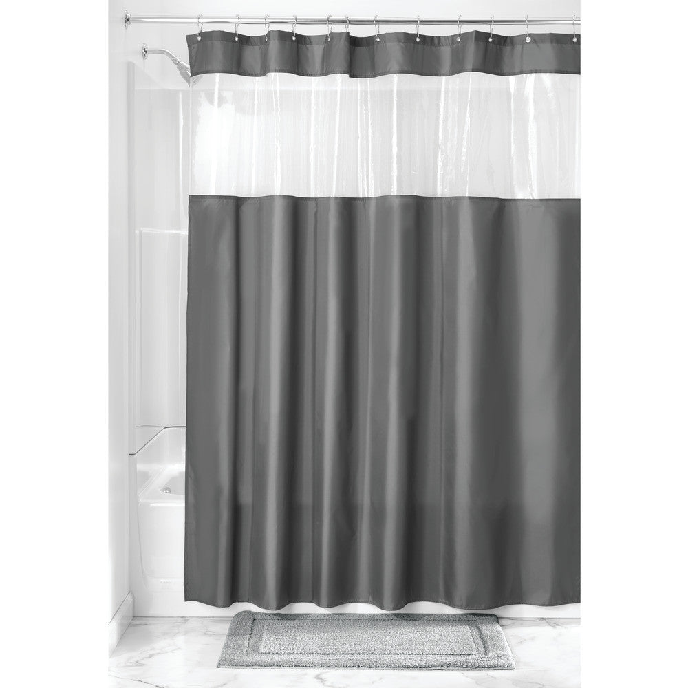 Poly View Shower Curtain