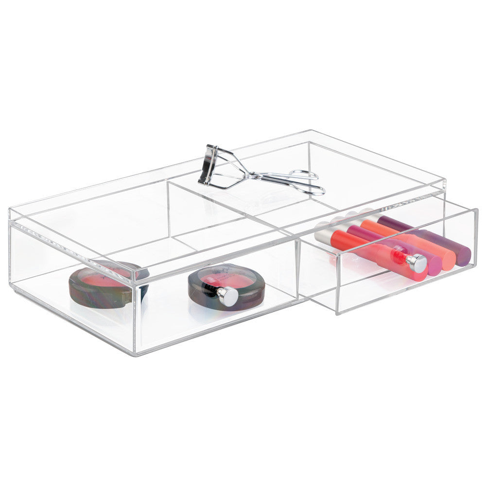 Clarity 2 Drawer Wide Vanity Organizer