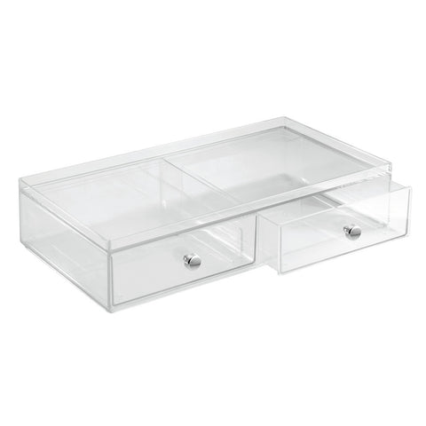 2 Drawer Wide Vanity Organizer