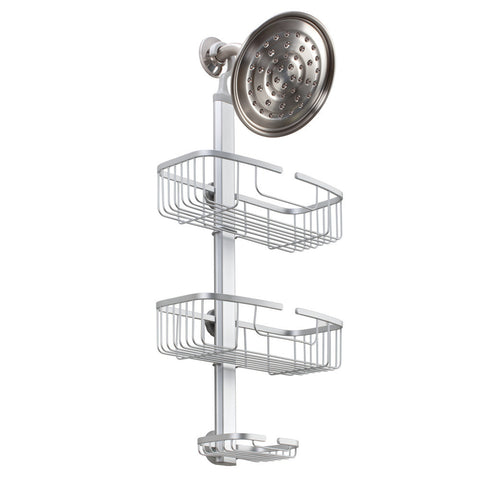 Metro Aluminum Adjustable Shower Caddy
