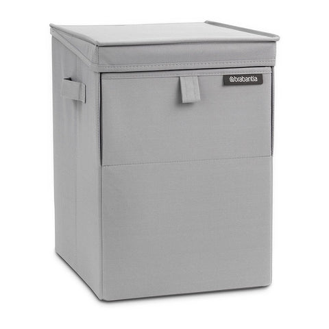 Stackable Laundry Box - Grey