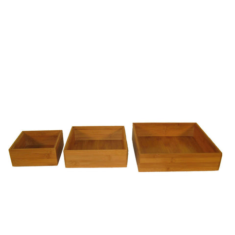 Bamboo Square Box