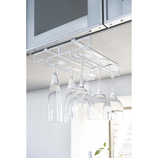 TOWER Under Shelf Wine Glass Hanger