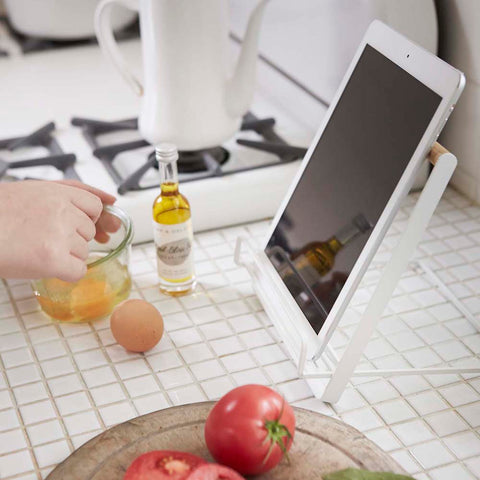 TOSCA Cookbook/Ipad Stand White