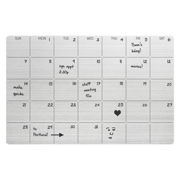 Stick-it! | Silicone Dry-Erase Monthly Planner