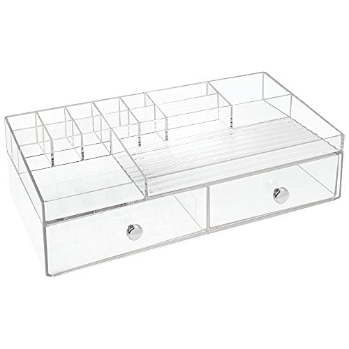Clarity 2 Drawer Cosmetic Organizer