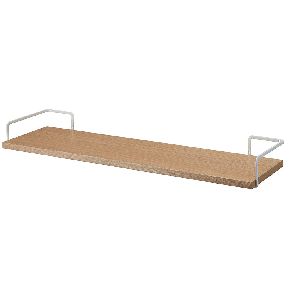 TOWER Wall-Mounted Wood Shelf WH