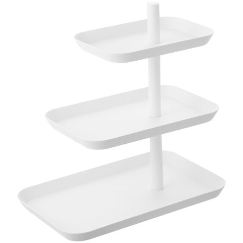 Tower 3-Tier Accessory Tray WH