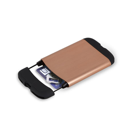 Bungee Metallic Card Case