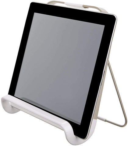 Austin Tablet/Cookbook Holder Matte Satin/Matte White