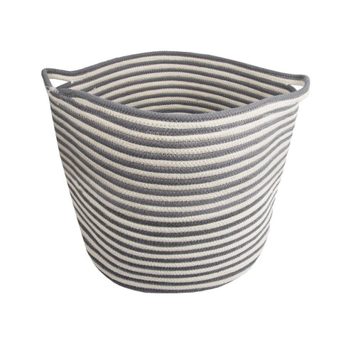 Cotton Rope Round Basket