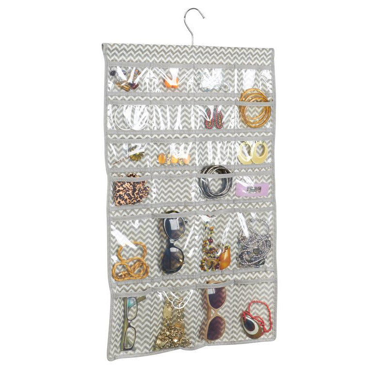 Axis Chevron Hanging Jewelry Organizer