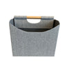 Rect. Two-Compartment Foldable Storage Bin
