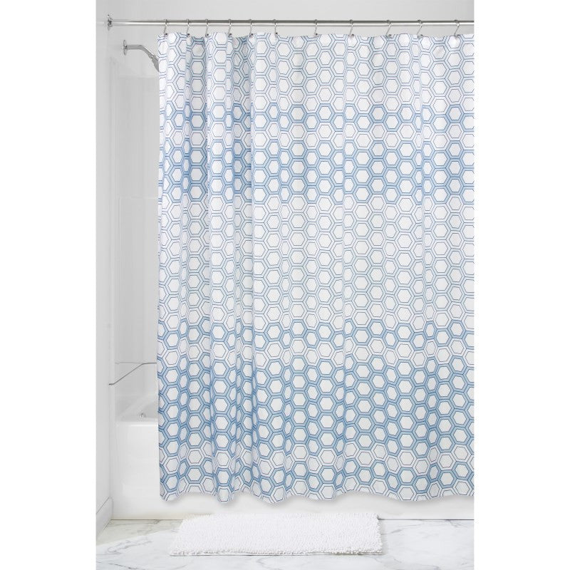 Ombre Hexagon Shower Curtain