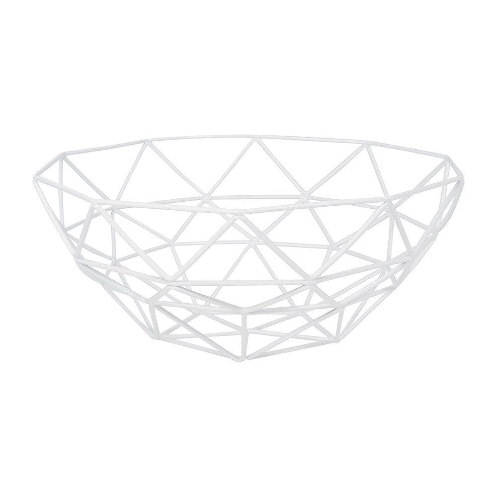 Gem Basket White