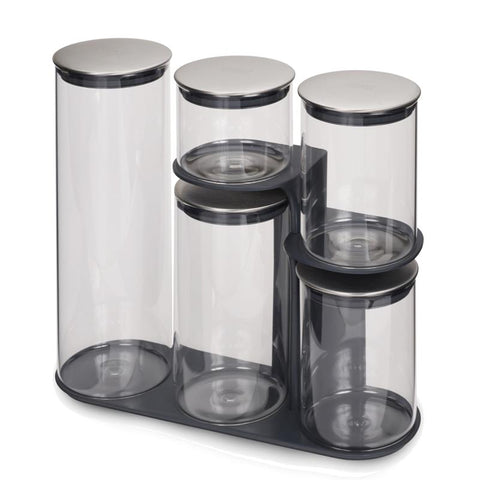 PODIUM Glass Food Storage Set