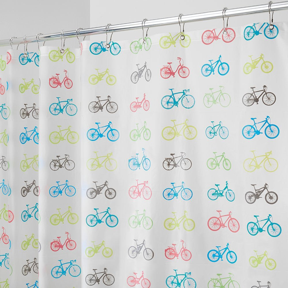 Bikes Shower Curtain